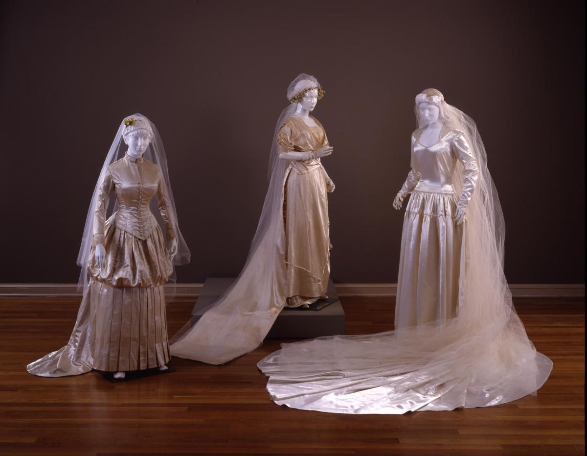 Wedding Dresses in the DAR Museum | Today\'s DAR