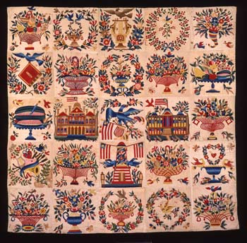 Home and Country: American Quilts and Samplers in the DAR Museum ... : american quilts - Adamdwight.com