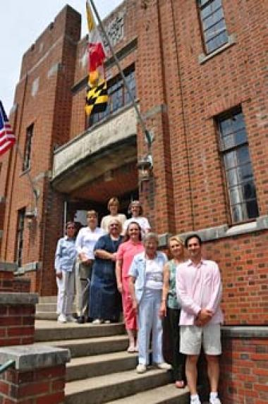 A DAR grant was used to abate lead and asbestos in the old armory in preparation for the renovation needed to turn it into an educational facility in efforts to establish a distinct campus for Maryland's Wye River Upper School.
