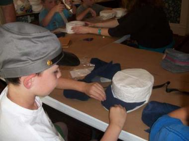 Campers learned what Civil War soldiers ate and wore, the role that camels played in the war, and how soldiers sent secret messages.
