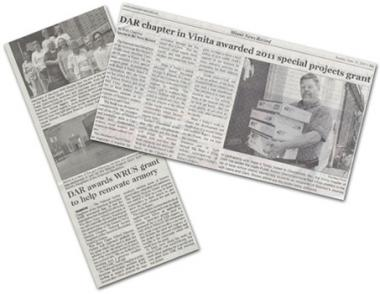 The DAR Special Projects Grants engaged communities and generated positive press coverage for nonprofit organizations and DAR chapters across the country.