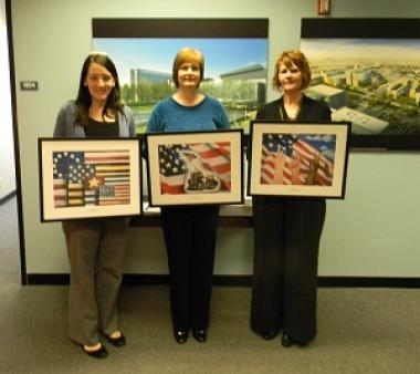 Grant Recipient, Patriotism Category: Spirit of '76 Chapter, New Orleans, La. Original artwork of the U.S. Flag, which was painted by area students was selected to be reproduced as prints and placed throughout a newly-constructed local VA medical center.