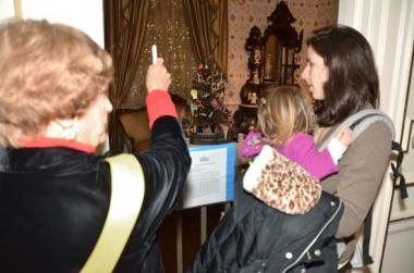 DAR Museum Docents were on hand to provide visitors with information about the period rooms.