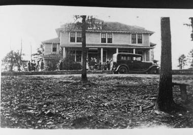 This the South Carolina Cottage at the Tamassee School, around early 1920's