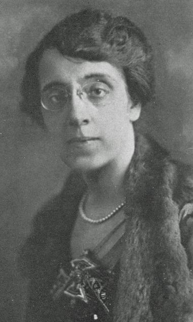 """""""As New York Daughters gather for our State Conference in Tarrytown this weekend, we remember Frances Tupper Nash, State Regent 1920-1926, our only two-term State Regent. She accomplished astounding things -- but is likely the only woman who literally risked her life on our behalf! In 1922, Mrs. Nash made headlines when she re-entered a burning hotel in Washington, D.C. to save the records of our organization. The Knickerbocker Press coverage was titled, """"Mrs. C.W. Nash risked life to save papers in the New"""