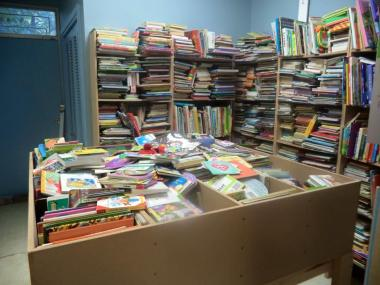 The Atlanta Chapter chose to volunteer with a nonprofit called Children Read. The goal of the organization is to provide underprivileged children with their own books. Gently used books are refurbished, cleaned, sorted and bagged for delivery to Head Start. Atlanta Chapter members volunteered 45 hours and cleaned over 2000 books.