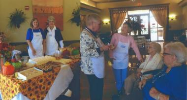 #DARDayofService#DARCelebrate125  In Dardanelle, Arkansas, Dardanelle Rock Chapter provided a dessert social for residents of the Nursing Home and Rehabilitation Center, serving and visiting with the residents