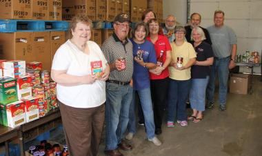 The Olde Towne Fenton Chapter of Fenton, Missouri celebrated our National Day of Service by co-hosting a food drive with H.E.R.O.E.S. Care on Saturday, and then helping sort all the collected non-perishable items today at their facility. We were proud and honored to assist this fine organization, H.E.R.O.E.S. Care, which provides emergency financial, material, and morale assistance to service members, their families, and wounded warriors through a nationwide support network available before, during, and aft