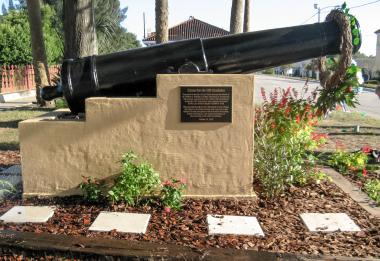 Grant Recipient, Historic Preservation: Lake Wales Chapter, Lakes Wales, Fla. A cannon from the frigate USS Constitution was given to the city in 1933. Weather had rotted the wooden gun carriage and the cannon had been placed in storage. Grant monies allowed the Historic Lake Wales Society and the chapter to restore the cannon.
