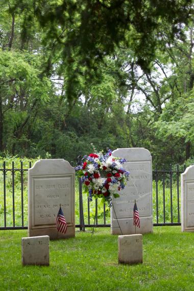 Grant Recipient, Historic Preservation Category: Onondaga Community College Foundation, Inc., Syracuse, N.Y. Named for General John A. Ellis (1763-1820), who encouraged Revolutionary War veterans to live in the area, the General Ellis Cemetery is made available to the public as part of the college's commitment to historic preservation and education.