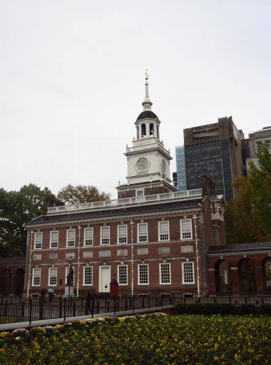 Independence Hall is the anchor of the Independence National Historical Park.