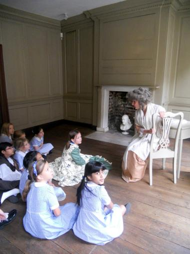 Grant Recipient, Education Category: Benjamin Franklin House, London, England. Grant monies allowed the centre to offer educational workshops for inner-city London school children. Throughout the 2012-2013 school year, 939 students from 19 schools and a further 48 home-schooled children participated in the increased opportunities.