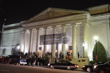 "DAR Constitution Hall on the night of the ""Of Thee We Sing: The Marian Anderson 75th Anniversary Celebration"" on April 12, 2014."