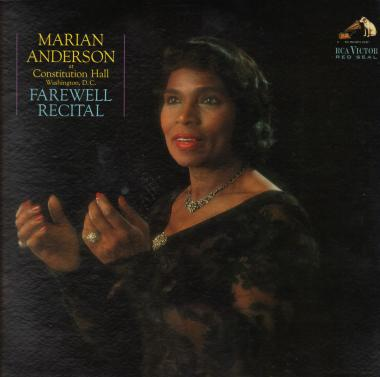 On October 24, 1964 Marian Anderson began her American farewell tour in Constitution Hall.