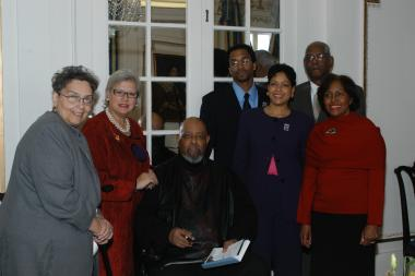 January 27, 2005 – Family members of Marian Anderson gather to celebrate the day's events.