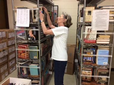 Aloha Chapter, HI spent the day sorting, cleaning, and shelving donated books to help Friends of Hawaii Kai Public Library.
