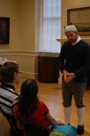 Grant Recipient, Education Category: Bostonian Society Corp., Boston, Mass. The Old State House, built in 1713 and a part of Boston's Freedom Trail, is the oldest surviving public building in Boston, and houses a history museum operated by the Bostonian Society. Funding enabled the society to create a first-person interpretation program called Revolutionary Characters™.
