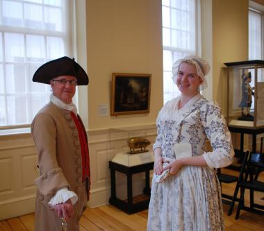 Grant Recipient, Education Category: Bostonian Society Corp., Boston, Mass.  Revolutionary Characters™ provided in-character presentations by costumed interpreters daily through the summer from Memorial Day to Labor Day. Grant funding allowed the society to costume, hire and train four actors who played Revolutionary characters of John Rowe (a neutral merchant), James Brewer (a waterfront mechanic), Elizabeth Murray (a female business leader), and Ame Cummings (a shopkeeper who suffered at the hands of the