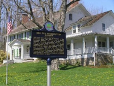 Grant Recipient, Historic Preservation Category: Chinkchewunska Chapter, NSDAR, Sussex County, N.J. The Reverend Elias Van Bunschooten House was built in 1790 and donated to the Chinkchewunska Chapter in 1971. Many of the belongings in the museum are original Cooper/Van Bunschooten family pieces dating from the 18th and 19th centuries. Age and span have caused sagging and bounce in the floor joists.