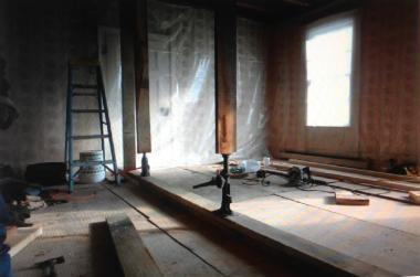 Grant Recipient, Historic Preservation Category: Chinkchewunska Chapter, NSDAR, Sussex County, N.J. The second-story floor of the Van Bunschooten Home and Museum was repaired through a DAR grant. The museum was the home of the area's only minister in the 18th century. Van Bunschooten was a traveling minister of the Dutch Reformed Church and served the people of the area for 40 years.
