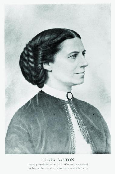 Clara Barton – At the first DAR organizing meeting on October 11, 1890, Clara Barton who was appointed DAR Surgeon General (an office no longer in existence in the organization), based on her already renowned nursing and relief efforts to soldiers during the Civil War and her founding of the American Red Cross in 1881. However, she pursued a number of different careers before that, including teaching and as a copyist in the US Patent Office. She left the Patent Office to tend to the soldiers when the Civil