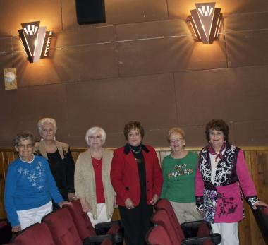 Grant Recipient: Historic Preservation, Willcox Theater Preservation, Willcox, AZ A DAR grant was awarded to the Willcox Theater Preservation Group, to restore the theater's original art deco style interior lighting.  The completed sconces were designed and fabricated to cover the existing bare bulbs in the auditorium.  Members of the Dry Lake Chapter, NSDAR sponsored the grant.