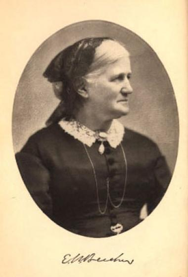 """Eunice started her writing career by contributing articles to periodicals. Her work focused largely on domestic subjects. In 1860, she published what was originally a series of stories from the perspective of a minister's wife as a novel called """"From Dawn to Daylight, A Simple Story of a Western Home."""" The novel is widely considered autobiographical, as Eunice herself was the wife of the well-known Reverend Henry Ward Beecher. In her writing, Eunice depicted what life was like for early settlers of Indiana,"""