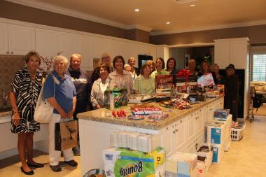 Long Beach, CA Chapter hosted a house warming party at the new Fisher House Foundation on the campus of the Long Beach VA Hospital