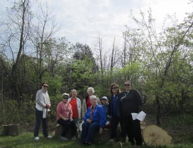 Fox River Valley Chapter, IL will be planting oaks and other trees are part of a conservation project. The chapter members donated 130 trees to be planted.