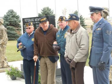 Grant Recipient, Patriotism Category: Glenville Area Women of Today, Hayward Township, Minn. Three area WWII veterans sparked the Glenville Area Women of Today chapter to organize local efforts in erecting a Veterans' Memorial at the Bohemian Cemetery. The memorial recognizes all five branches of the military, and representatives of each were presented at the dedication.