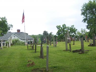 Grant Recipient, Historic Preservation Category: Granville Historical Society, Granville, Ohio The Old Colony Burying Ground, the oldest in Granville, was plotted and laid out in 1805. Buried within the three-acre cemetery are many of the founders and a number of Revolutionary War, War of 1812, and Civil War veterans. Many of the original headstones were in need of restoration and preservation.