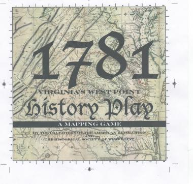 "Grant Recipient, Education Category: Historical Society of West Point, Va. The Historical Society of West Point, Va., created a game, ""1781 Interactive Map Making Game: Four Biographies of Contributors to American Independence,"" to meet the requirements for history and social science standards for Virginia public schools."