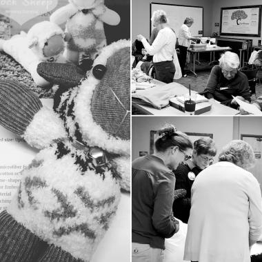 Indian Peaks Chapter, CO made comfort items for area first responders to give to kids in crisis