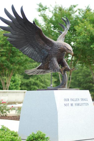 "Grant Recipient, Patriotism Category: Oconee Veterans Memorial Foundation, Inc., Watkinsville, Ga. Dedicated on Memorial Day, 2015, the Oconoee Veterans Memorial's new Wall of Honor is a tribute to 39 Oconee County sons and daughters who were killed in action. The bronze statue, ""Freedom,"" represents the patriotism and selflessness of these patriots."