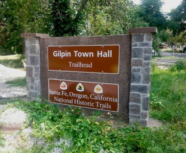 Grant Recipient, Education Category: Oregon-California Trails Association, Independence, Mo. The Oregon-California Trails Association implemented auto-tour route signs in local neighborhoods to guide visitors from one historic trail resource to the next. The signage has been placed as close as possible to the actual corridors, especially in urban areas.