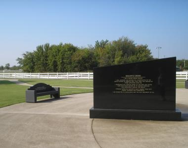 Grant Recipient, Patriotism Category: Owasso Chapter NSDAR, Owasso, Okla. The Owasso Chapter, NSDAR, donated a memorial bench honoring veterans and their service to the Owasso Sports Park. The bench was installed at the site of the American flagpole and serves as a reminder of the sacrifice of American men and women who serve the United States.