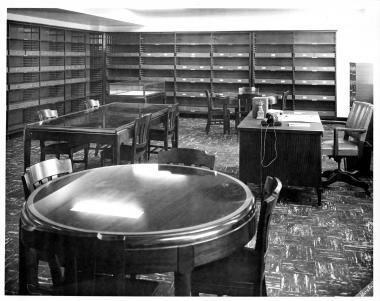 Americana Room, circa 1958.