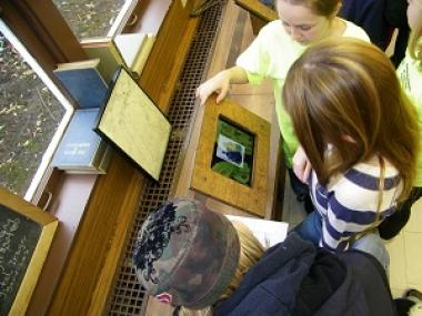 Grant Recipient, Education: Rochester Hills Museum, Rochester Hills, Mich. The Rochester Hills Museum at Van Hoosen Farm developed an interactive exhibit in its 1848 Stoney Creek Schoolhouse. The program features an iPad Timeline to engage visitors.