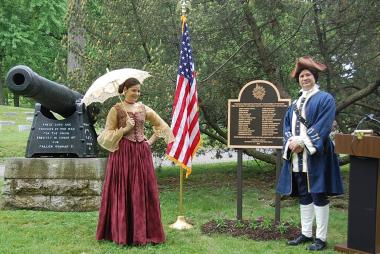 Grant Recipient, Patriotism Category: Jonathan Dayton Chapter, NSDAR, Dayton, Ohio The Jonathan Dayton Chapter annually places flags on the graves of Revolutionary War soldiers. Research of Montgomery County records yielded an additional 30 soldiers in unmarked graves.
