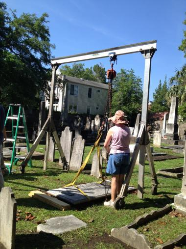 Grant Recipient, Historic Preservation Category: Kahal Kadosh Beth Elohim Synagogue, Charleston, S.C. The 1749 Kahal Kadosh Beth Elohim Synagogue, the oldest in the U.S., received a grant for the preservation of its 1764 Coming Street Cemetery. The cemetery includes graves of 11 Revolutionary War veterans