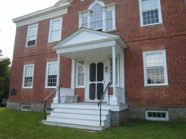 Grant Recipient, Historic Preservation Category: Vermont State Society, DAR, Addison, Vt. Repairs in 1970 to the original front porch, which was damaged in an auto accident, were historically inappropriate and lacked concrete footers. The Vermont State Society, NSDAR, repaired the failing structural elements using modern, unobtrusive techniques to insure strength and durability, while also restoring the front porch to its original appearance with historical accuracy.