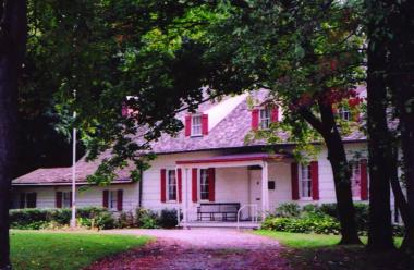 In 1954, the Melzingah Chapter in Dutchess County, NY, rescued the historic home of Madam Catheryna Rombout Brett -- after it was slated to be demolished to make way for a supermarket! In the sixty years since, chapter members have operated the c. 1709 homestead as a house museum, welcoming as many as 1,000 visitors annually. The Chapter's organizational charter had been presented to charter members here in 1896.  Widowed at a young age and left to raise three sons in the wilderness of the Hudson Valley, M