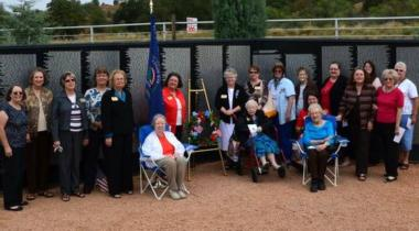 """Weatherford Chapter, Weatherford, TX, """"Salute to Our Vietnam Veterans"""" at the National Vietnam War Memorial"""