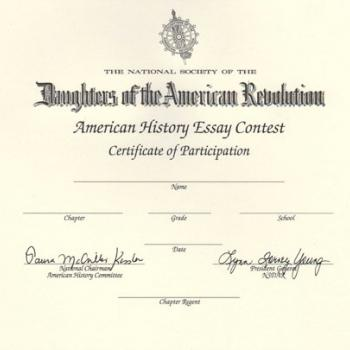 dar daughters american revolution essay contest The january meeting of the thomasville chapter national society daughters of the american revolution (nsdar) featured the first-place winners of the american history essay contest.