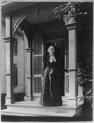 Photograph Of Susan B Anthony 1900